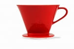 COFFEE FILTER 1X4 MELITTA RED