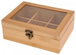 tea box bamboo